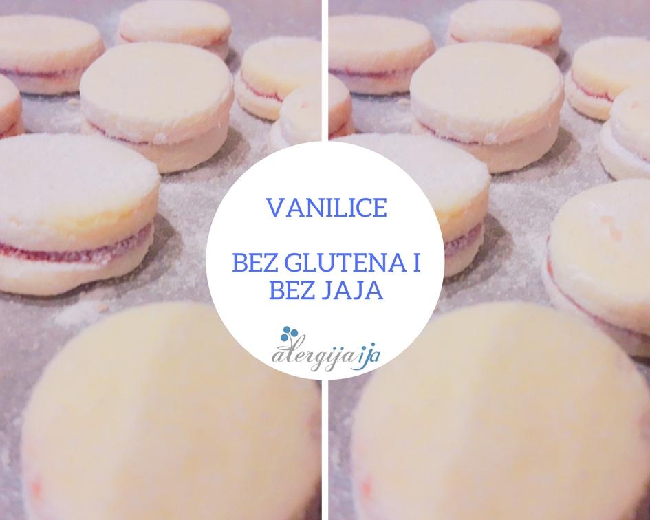 vanilice bez glutena i bez jaja