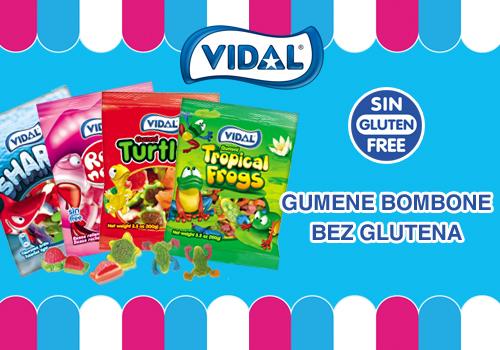 Vidal bombone bez glutena