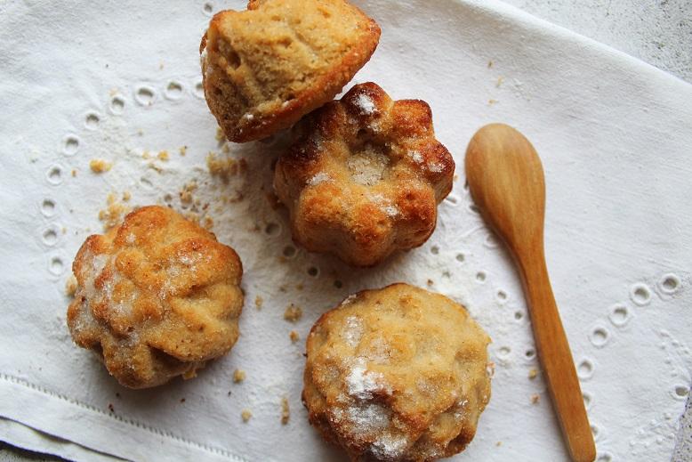 mafini od tri vrste brašna bez glutena