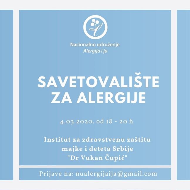 Savetovalište za alergije