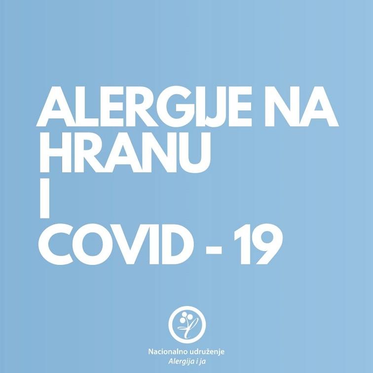 alergija na hranu i korona virus
