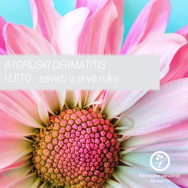 atopijski dermatitis i leto