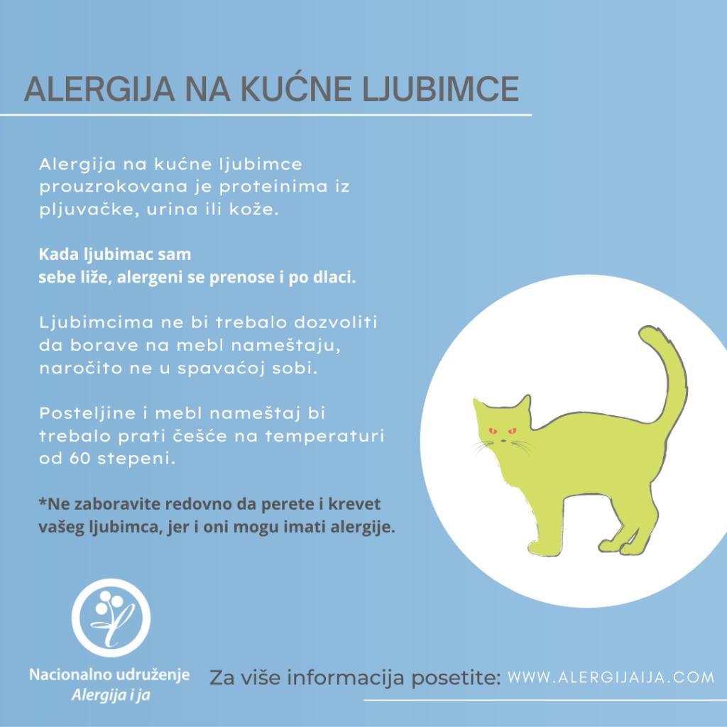 alergija na kućne jubimce