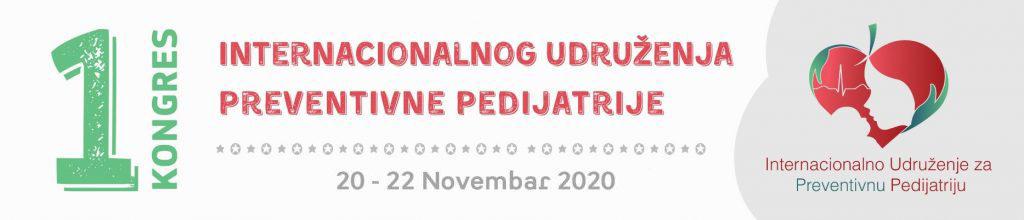 1. KONGRES INTERNACIONALNOG UDRUŽENJA PREVENTIVNE PEDIJATRIJE 2020
