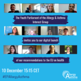 Evropski parlament mladih za alergije i astmu