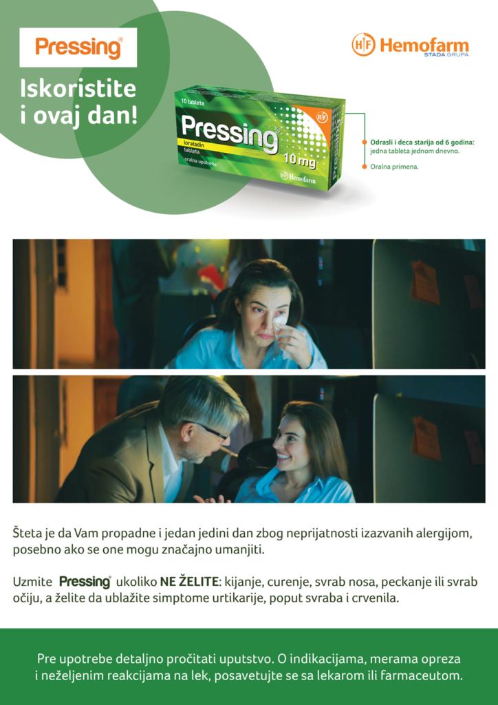 presing