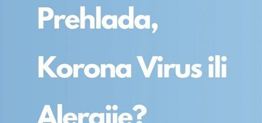 korona virus, alergije