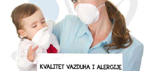 zagađenje vazduha i alergije
