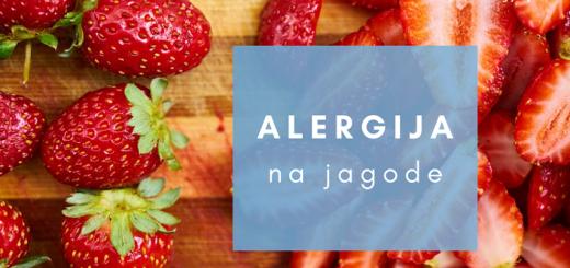 alergija na jagode