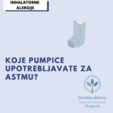 pumpice za astmu